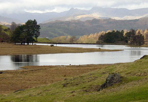 The Langdales in the Lake District